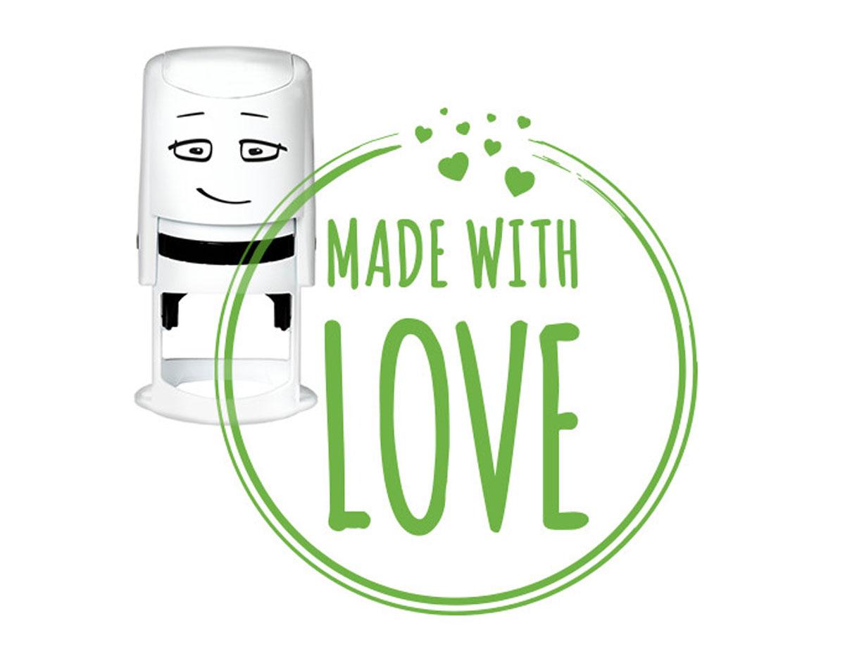 NI2027 Sello estandar para base NIO Made with love NIO