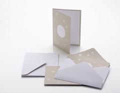 NI302K Set 6 tarjetas y 6 sobres Coleccion Kraft NIO