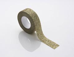 NI310R Cinta adhesiva masking tape glitter dorado Coleccion Kraft NIO