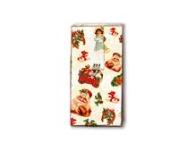 P01304 PANUELOS TT CHRISTMAS STICKERS 11x5 5cm 10u Paper Design
