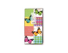 P01315 PANUELOS TT BUTTERFLIES SQUARES 11X5 5cm 10u Paper Design