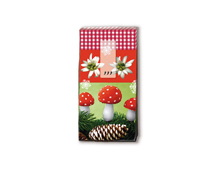 P01331 PANUELOS TT CHRISTMAS NATURE 11x5 5cm 10u Paper Design