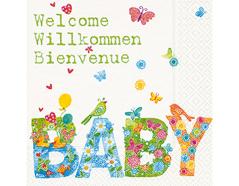 P200055 Servilletas papel Baby Paper Design