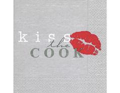 P200064 Servilletas papel Kiss the cook Paper Design