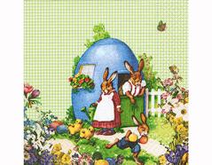 P200210 Servilletas papel Easter Idyll 33x33cm 20u Paper Design