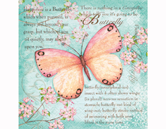 P200225 Servilletas papel Butterfly poetry 33x33cm 20u Paper Design