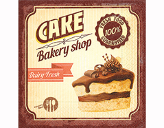 P200281 Servilletas papel Chocolate cake 33x33cm 20u Paper Design