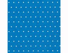 P200303 Servilletas papel Dots azure 33x33cm 20u Paper Design