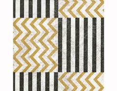 P200336 Servilletas papel Zig Zag with stripes 33x33cm 20u Paper Design