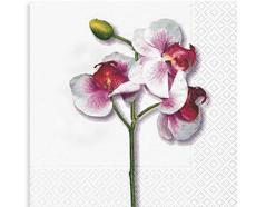 P20914 Servilletas papel orquidea blanca Paper Design