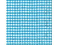 P21063 Servilletas papel vichy turquoise Paper Design