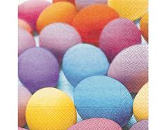 P21547 Servilletas papel bright easter eggs Paper Design