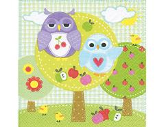 P21571 Servilletas papel owl park Paper Design