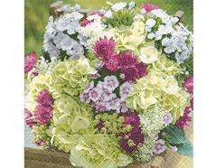P21763 Servilletas papel enchantment of flowers Paper Design