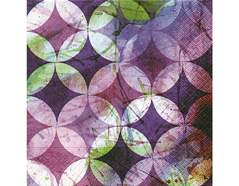 P21995 Servilletas papel Circle pattern Paper Design