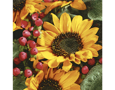 P22011 Servilletas papel Autumn greetings Paper Design