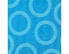 P28207 Servilletas papel circulos azules Paper Design