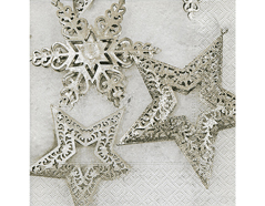 P600004 Servilletas papel Metallic stars Paper Design