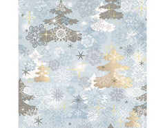 P600005 Servilletas papel A touch of winter Paper Design