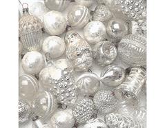 P600009 Servilletas papel Silver baubles Paper Design