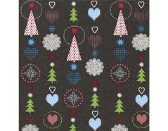 P600035 Servilletas papel Christmas signs Paper Design