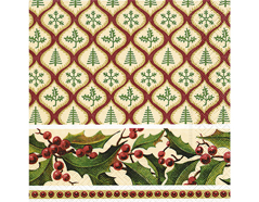 P600052 Servilletas papel Christmas pattern Paper Design