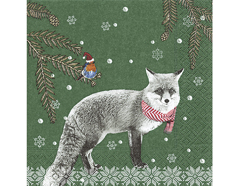 P600063 Servilletas papel Robin and fox Paper Design