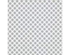 P600157 Servilletas papel Star pattern silver 33x33cm 20u Paper Design