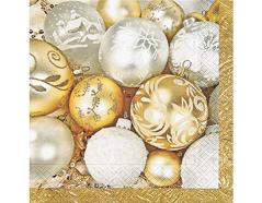 P60689 Servilletas papel fine xmas balls Paper Design
