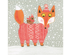 P60792 Servilletas papel fairytale fox Paper Design