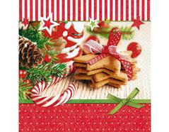 P60798 Servilletas papel christmas goodies Paper Design