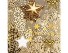 P60842 Servilletas papel Gold rush Paper Design