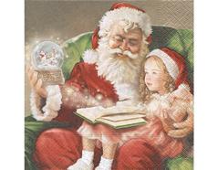P60873 Servilletas papel A Christmas carol Paper Design