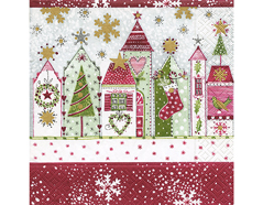 PLC0352 Servilletas papel Christmas road Paper Design