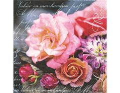 PLN0829 Servilletas papel La vie en rose Paper Design