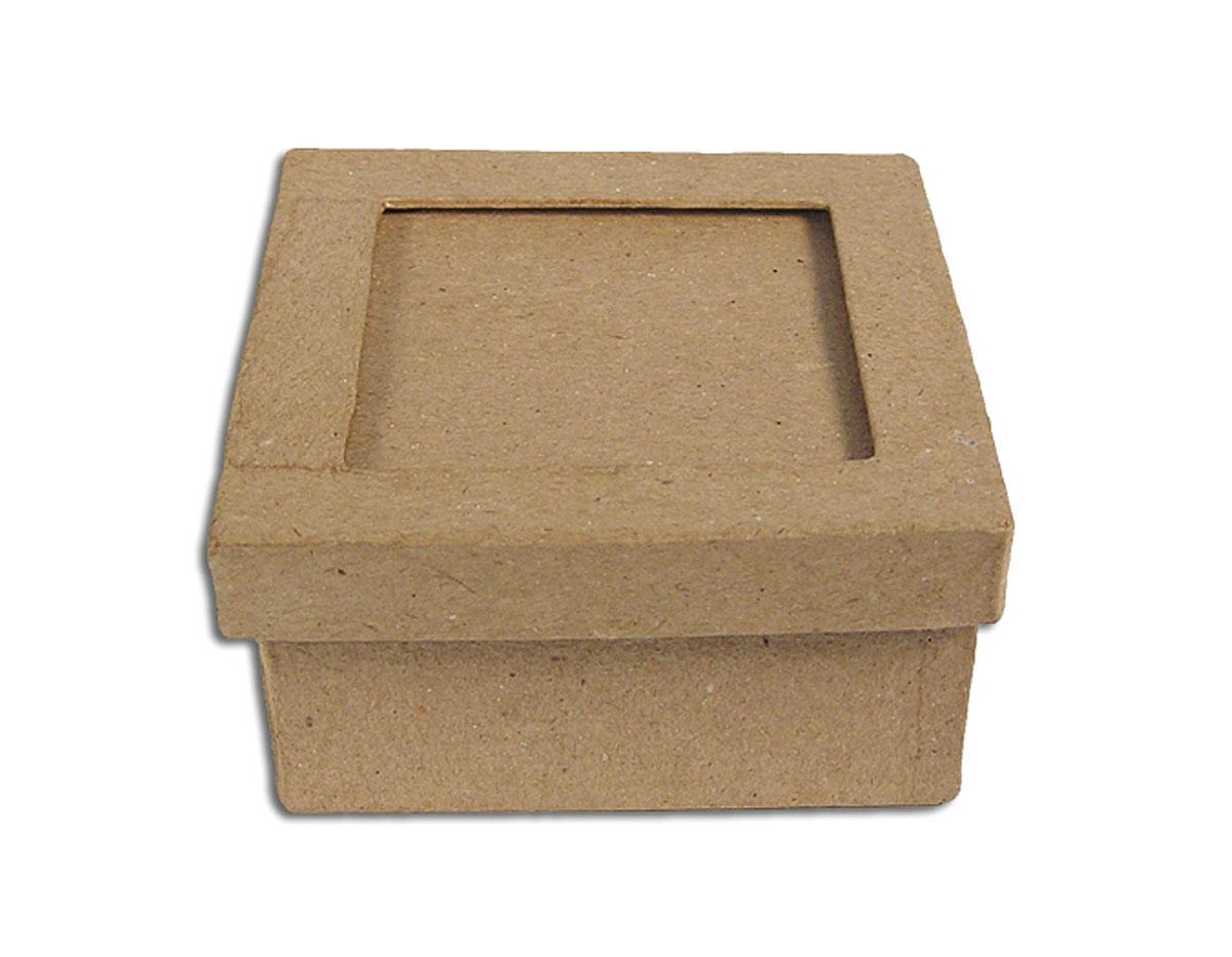 PM1051CP Caja papel mache con marco cuadrada Innspiro