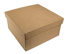 PM1051C PM1052C PM1054C Caja papel mache cuadrada Innspiro