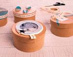 PM1053B Set de 3 cajas papel mache redondas 18 21 y 24cm Innspiro - Ítem3