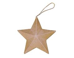 PM1837 Colgante papel mache estrella Innspiro - Ítem
