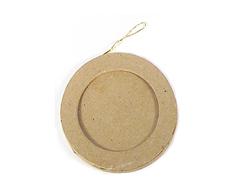 PM5001B Colgante papel mache portaretratos redondo Innspiro