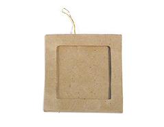 PM5001C Colgante papel mache portaretratos cuadrado Innspiro