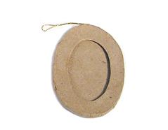 PM5001D Colgante papel mache portaretratos oval Innspiro