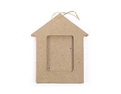 PM5001H Colgante papel mache portaretratos casita Innspiro