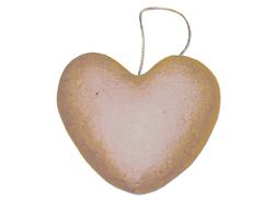 PM529 Colgante papel mache corazon con volumen Innspiro