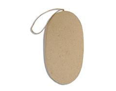 PM6283D Colgante papel mache oval plano Innspiro