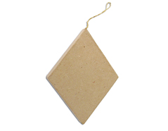 PM6283J Colgante papel mache rombo plano Innspiro