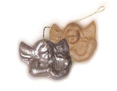 PM9022 Colgante papel mache con relieve angel Innspiro