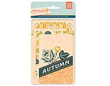 PRS-4335 PERSIMMON- WOOD VENEER CARDS Basic Grey