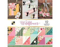 PS-005-00638 Set 36 papeles doble cara Stack Wildflower DCWV