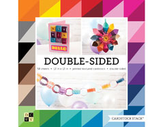 PS-016-00022 Set 58 cartulinas doble cara Cardstock Stack Double-Sided Textured DCWV